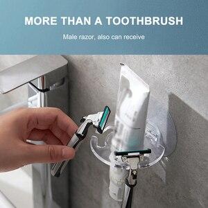 10/20 штук перфорация Пластик держатель для зубной пасты и для зубной щетки стеллаж для хранения бритва электрическая зубная щетка дозатор Ор...