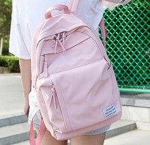 Mode Nylon femmes sac à dos sacs décole pour adolescents filles preppy style étudiant sac à dos femme sac à dos Mochilas Feminina