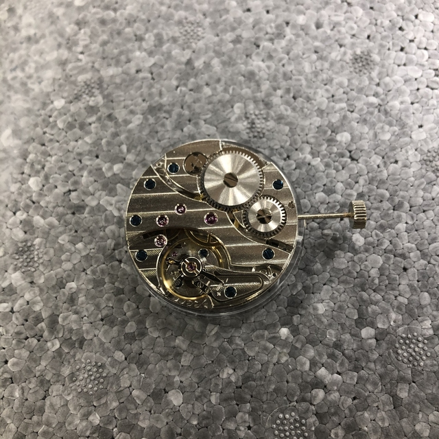 Watch accessories seagull ST3601 homemade 6497 movement fine tuning manual up chain two pin semi mechanical movement