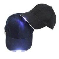 Outdoor Sport Caps Nacht LED Taschenlampe Angeln Jagd Hüte Baseball Hut Kappe
