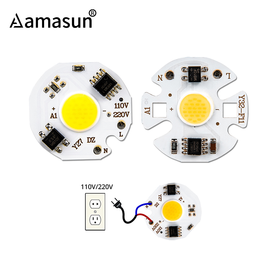 Warm White LED COB Lampe Chip 20W 30W 50W 100W Eingang Smart-IC-Treiber Kalt