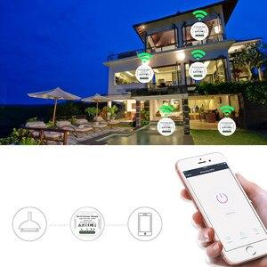 Image 4 - Lonsonho inteligente wi fi interruptor dimmer relé tuya módulo de automação residencial inteligente controle remoto compatível alexa google casa mini