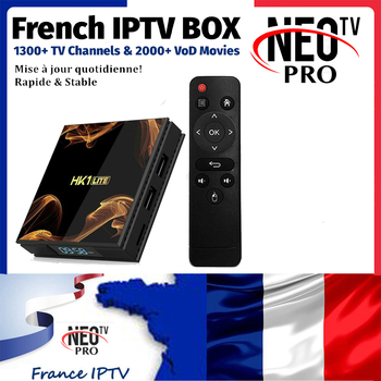 HK1 Lite Android 9.0 RK3228A IPTV Box NEOtv pro France Belgium Portugal Netherlands Italy Dutch 1Year IPTV Subscription TV Box