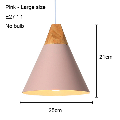 Pink 250mm no bulb