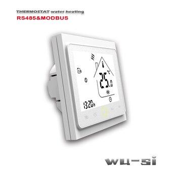 цена на RS485&MODBUS thermostat-Floor Heating thermostat ,24VAC 95-240VAC optional