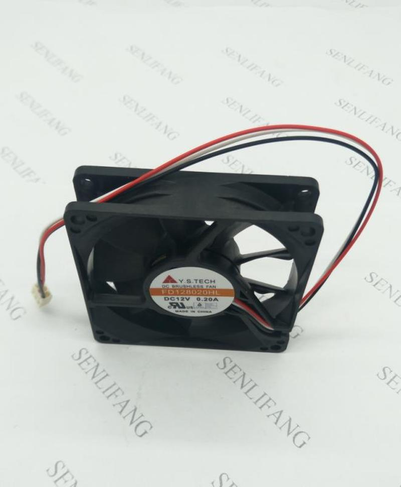 Free Shipping FOR YS FD128020HL 8 Cm 12 V 0.20 A 8025 Cm, 80 * 80 * 25 Mm Ball Case Fans