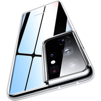 Claro caso para Samsung Galaxy S21 Ultra S20 FE S10 nota E 20 Plus 10 A51 A71 A50 A70 A20E A21S A12 S9 transparente cubierta de silicona
