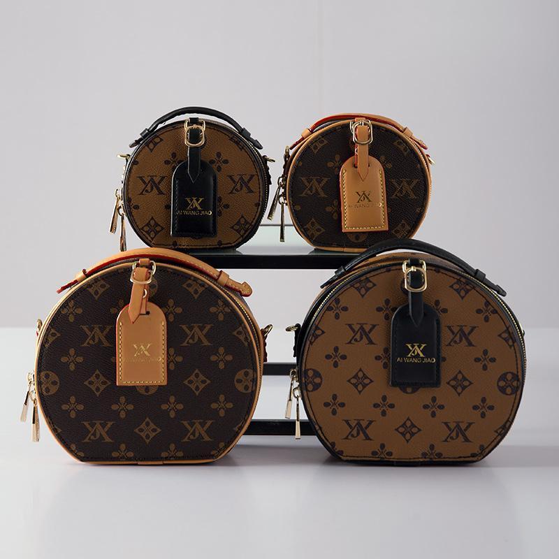Bags For Women 2020 New Presbyopic Fashion Small Round Bag Portable Travel Bag