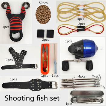 Powerful Multifunctional Shooting Slingshot Shooting Fishing Hunting Fishing Slingshot Shooting Fishing Professional Set 2020