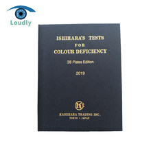 Loudly brand Higher quality Optical product Genuine Eye test book Ishihara book 38 Plates