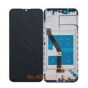 Image 4 - 6.09 Assembly Digitizer החלפת תצוגה עבור Huawei Y6s 2019 LCD JAT L29 JAT L41 JAT LX1 JAT LX3 מגע מסך מסגרת זכוכית