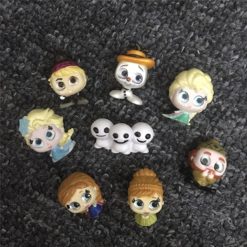 Doorables Olaf Anna Elsa Series1&Series2 Anime Figure Gifts Kids Toy Special Edition Collection