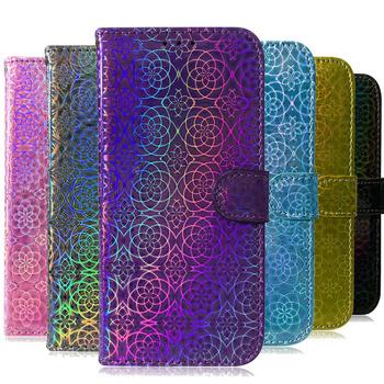 Dla Coque Samsung A52 przypadku Bling błyszczące Etui z klapką do Samsung Galaxy A72 przypadku M42 M31S M32 M21 A71 portfel Etui A51 A32 A42 A 12 tanie i dobre opinie HAIMAITONG CN (pochodzenie) Etui z portfelem Luxury bling shine laser wallet flip case pu leather cover coque 41 11 W stylu rysunkowym