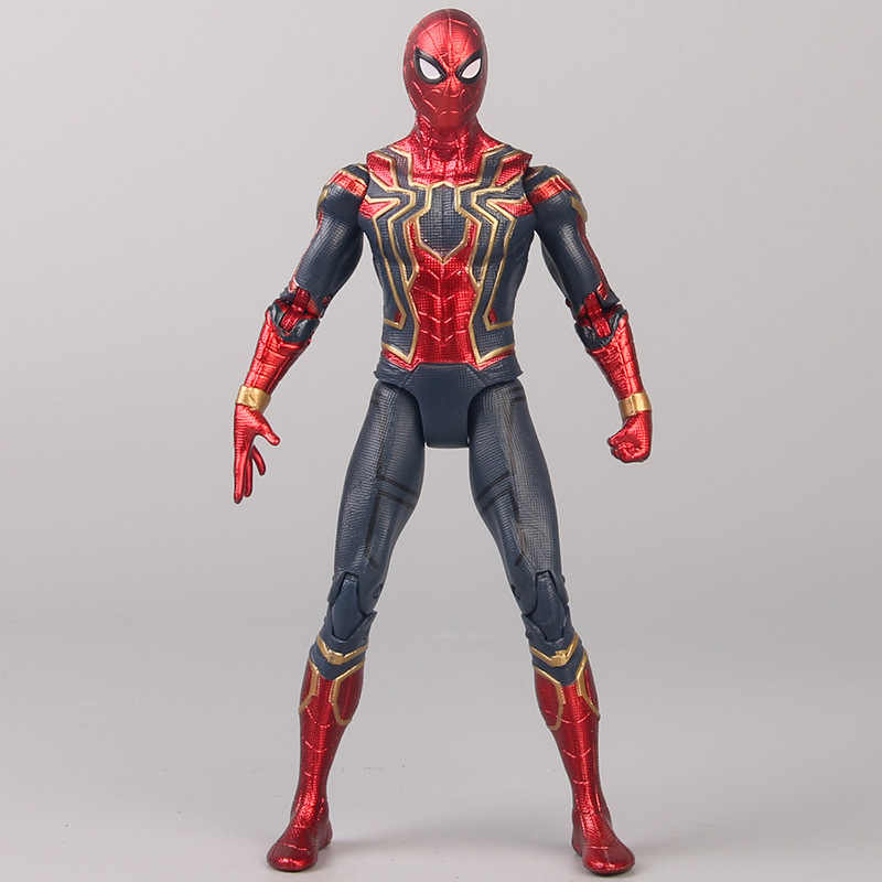 Spider-Man Far From Home Advanced Suit PVC Action Figure Toys New In Box 17cm