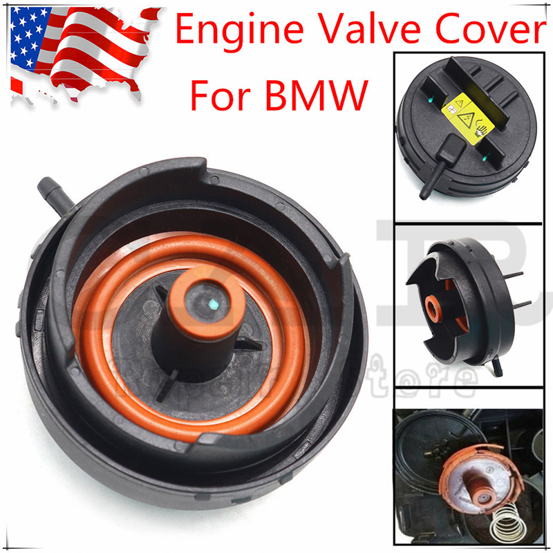 Cylinder Head Valve Cover PCV Cover of N51/ N52 Engine Valve Cover For BMW E82 E90 E70 Z4 X3 X5 328i 528i 11127552281 image