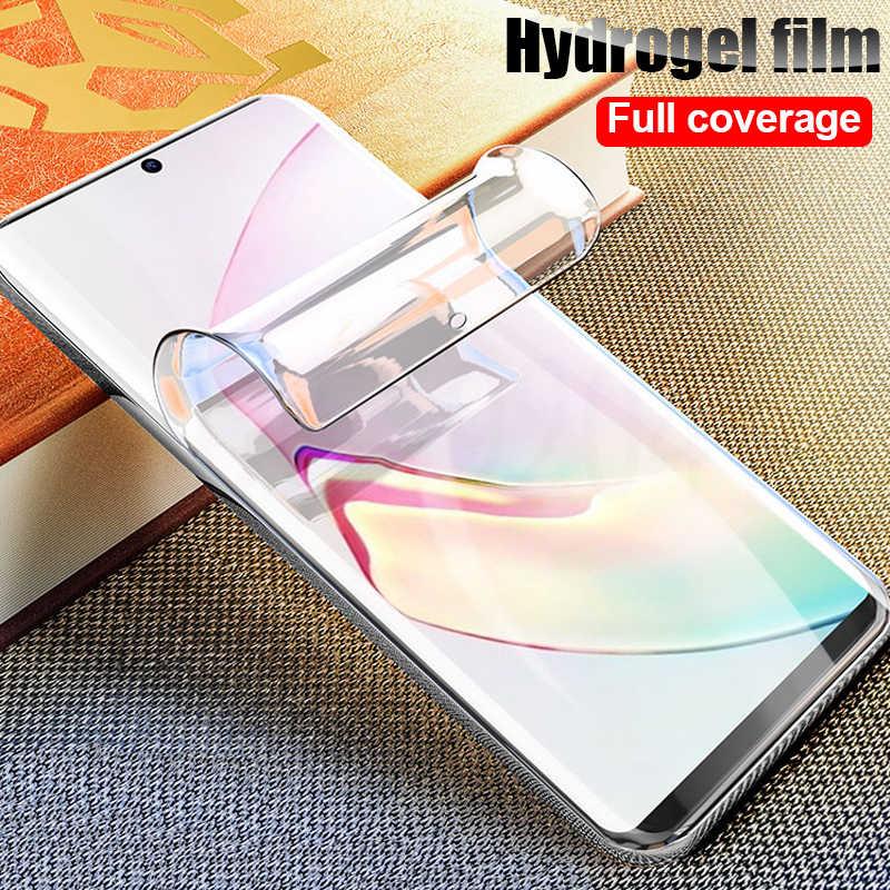 2PCS 999D Soft Hydrogelฟิล์มProtectorสำหรับSamsung Galaxy S10 S9 S8 S10E S20 Ultra Plusหมายเหตุ 10 Plus