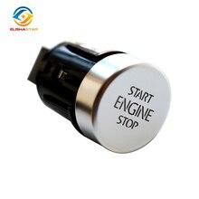 ELISHASTAR Interruptor de botón de inicio y parada 5N0959839, OEM, para V W Tiguan 2013 2018, Sharan 2013 2019, 7N, 5N0959839, 5N0, 2008, 2016
