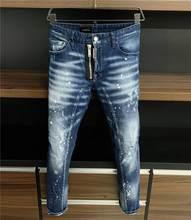 2020 New Designer DSQUARED2 Denim Jeans Holes Trousers Pants Biker Jeans HOMME Ripped Jeans COOLGUY D2 Jeans DSQ2 Men Pants A382