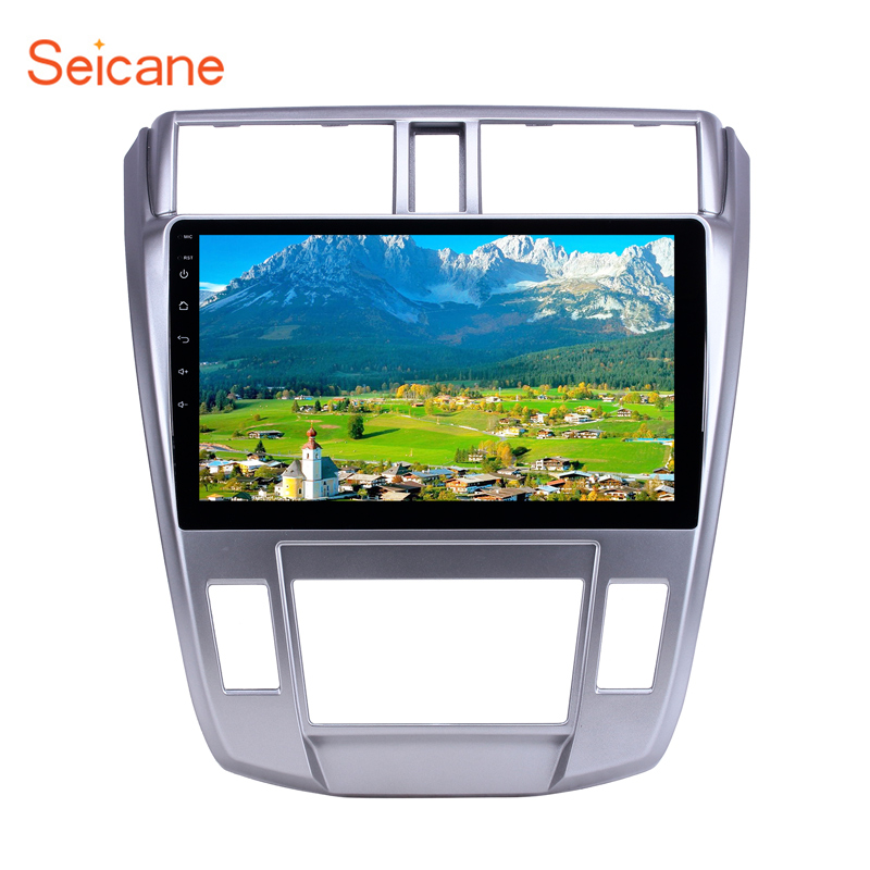 <font><b>Seicane</b></font> Android 10.0 Quad-core GPS Navi for 2008 2009 2010 2011-2013 <font><b>Honda</b></font> <font><b>City</b></font> Auto A/C 10.1 inch Car Radio Head Unit Player image