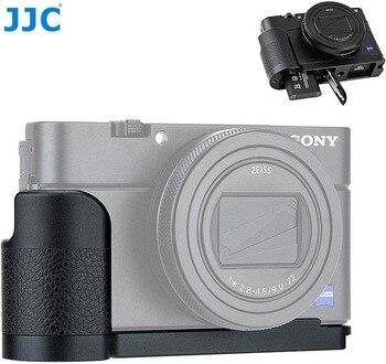 JJC מצלמה אנטי להחליק היד לסוני RX100 VI RX100 VA RX100 V RX100 IV RX100 III RX100 השני מצלמות שחרור מהיר L צלחת-בחצובות מתוך מוצרי אלקטרוניקה לצרכנים באתר