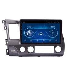 Lecteur multimédia de voiture pour Honda civic 2004 2005 2006 2007 2008 2009 2010 2011 10.1, Android 8.1, WIFI, GPS, 2 din