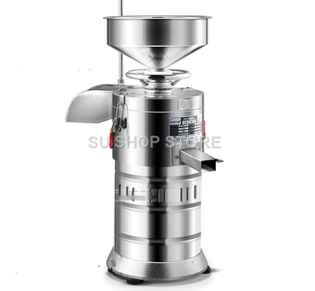 220V 40KG/H Commercial Stainless Steel Soybean Milk Maker Multifunctional Bean Dregs And Soybean Milk Separation Fiberizer EU/AU 220v 40kg h commercial soybean juicer grinding machine kitchen blender household grain grinder automatic separated soy milk make