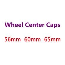 4 шт. черный, серебристый цвет зеленый логотип внешний Диаметр 56 мм 60 65 для Центральная втулка колеса автомобиля эмблемы крышки обода крышка ...