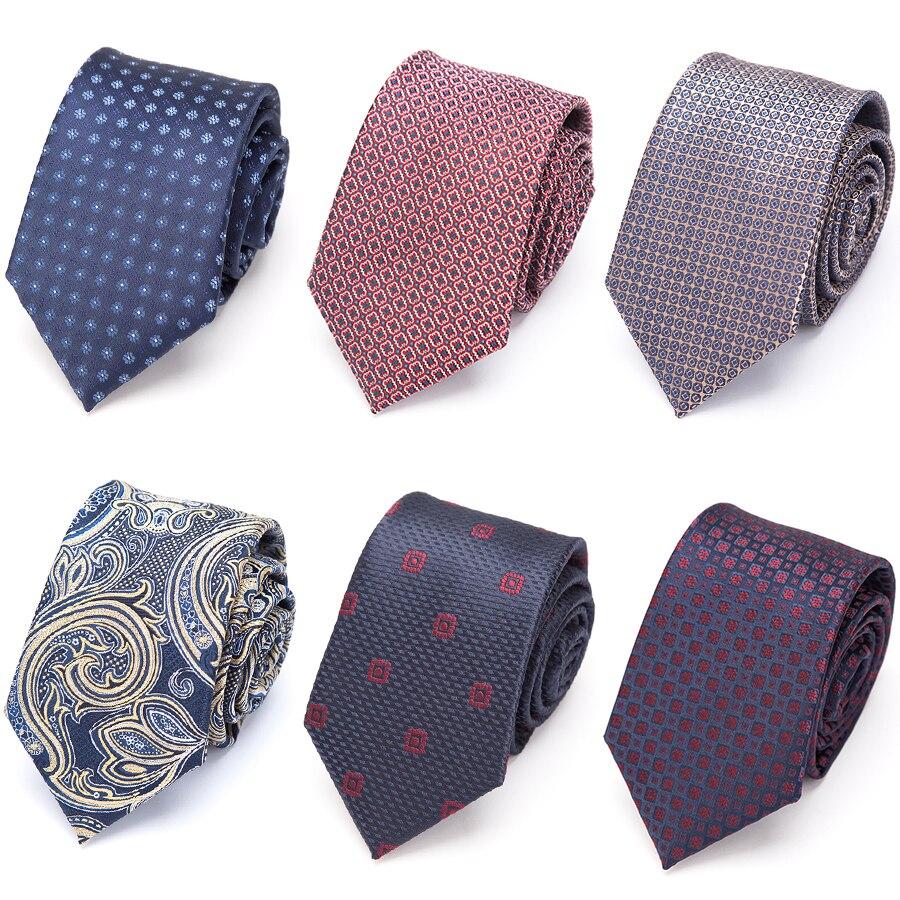 New Mens Tie Luxury Gift NeckTie Classic Men's Ties Plaid Striped Ties For Men Formal Business Wedding Party Neckties Gravata