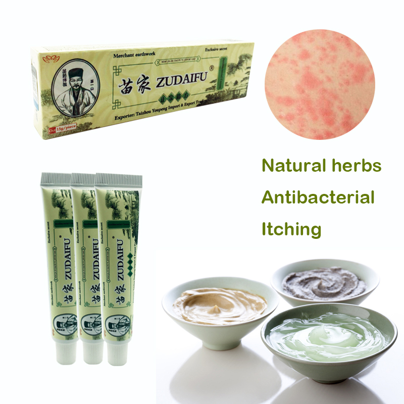 Dropshipping Zudaifu Skin Psoriasis Cream Dermatitis Eczematoid Eczema Ointment Treatment Psoriasis Cream Skin Care Cream 29A