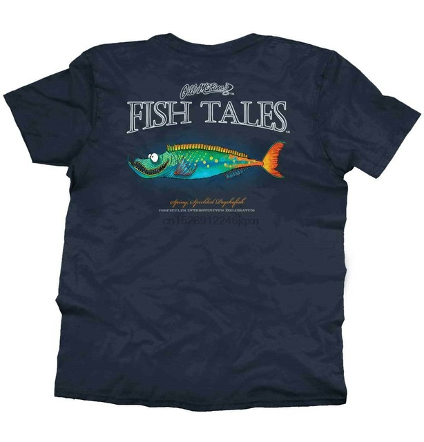 Spiny Speckled Psycho Fish Sporting Goods Fishing Gear Funny T-Shirt Cool Casual Pride T Shirt Men Unisex Fashion Tshirt