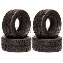 ENRON-pneus en caoutchouc 4 pièces, 68MM, pour voiture RC sur route, pour HSP HPI Redcat Tamiya Kyosho SAKURA, nouvelle collection 1/10