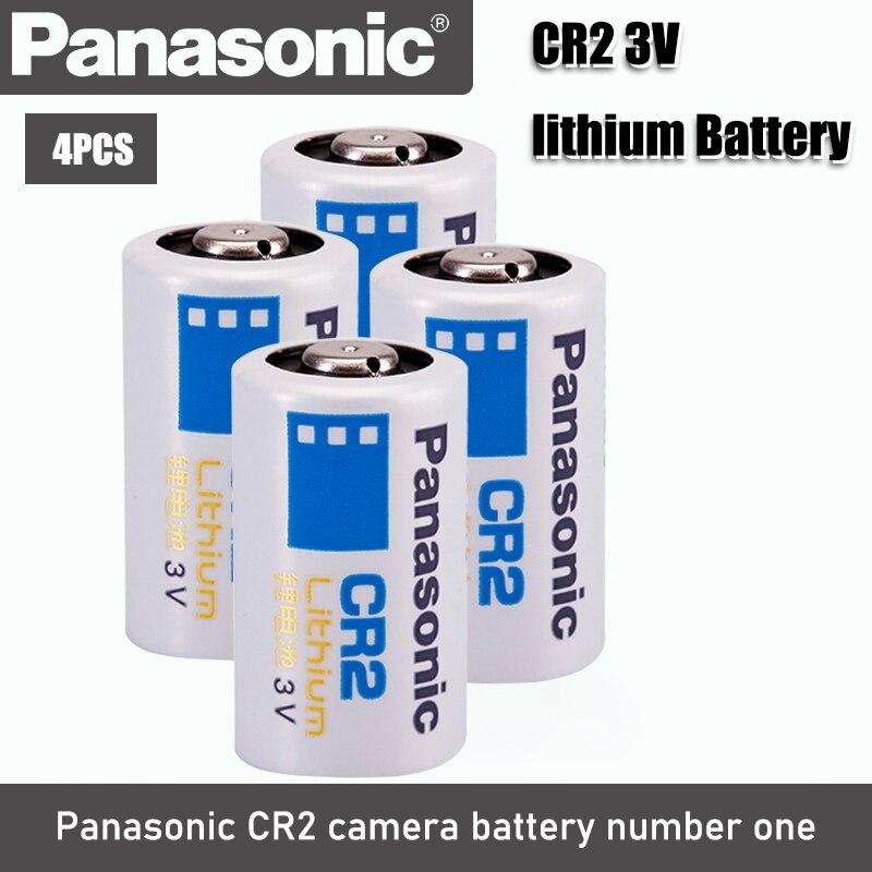 4pac новый оригинальный Panasonic CR2 3V CR15H270 850mah литиевая батарея батареи для камеры