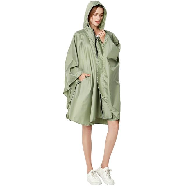 Big Size XXL Women Breathable Raincoat Lightweight Rain Coat Poncho Ladies Waterproof Cloak Raincoats Adults Windproof Rainwear 6