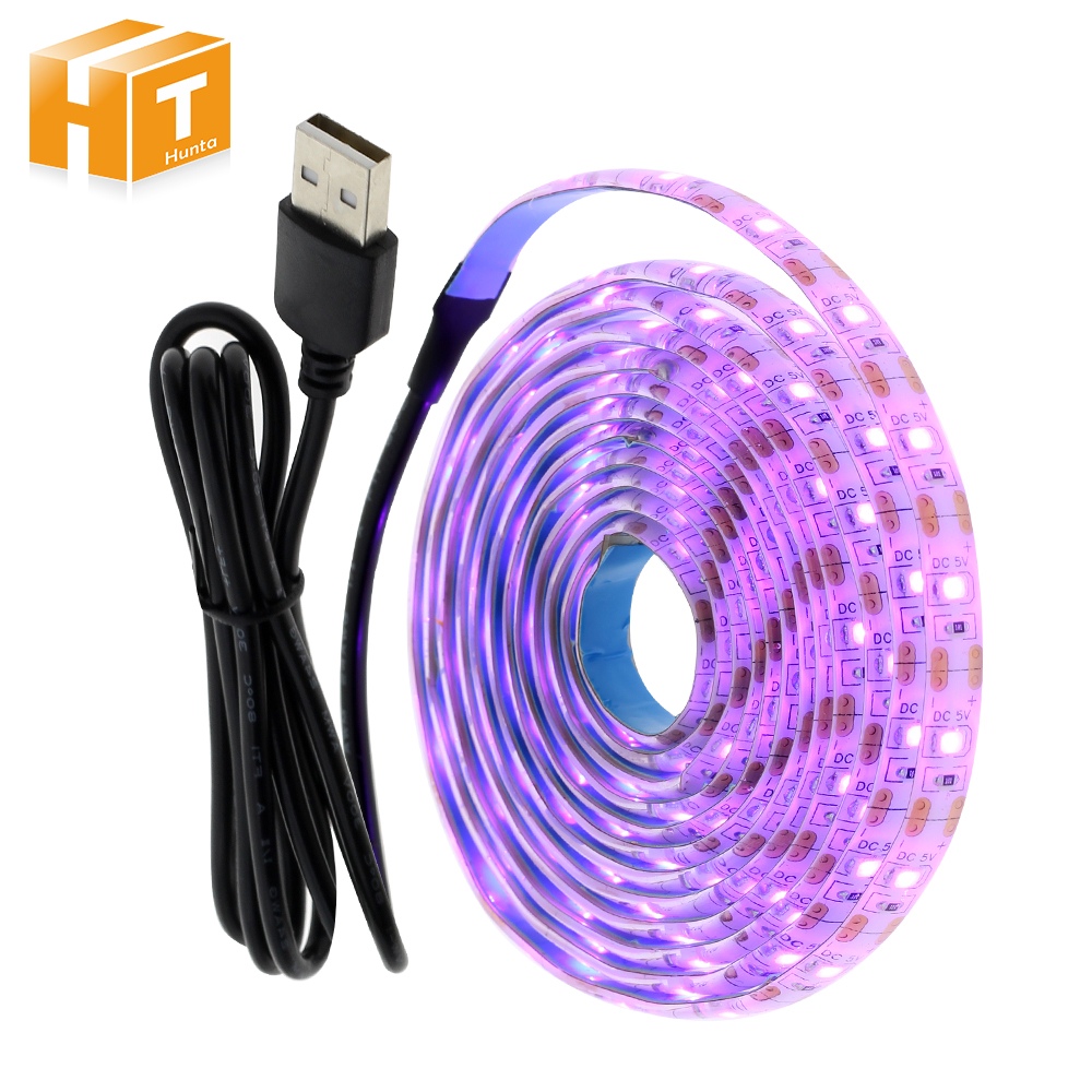 5V USB LED Strip Light  2835 Pink Color 1M 2M Set For TV Background Lighting Decoracion Fairy Lights