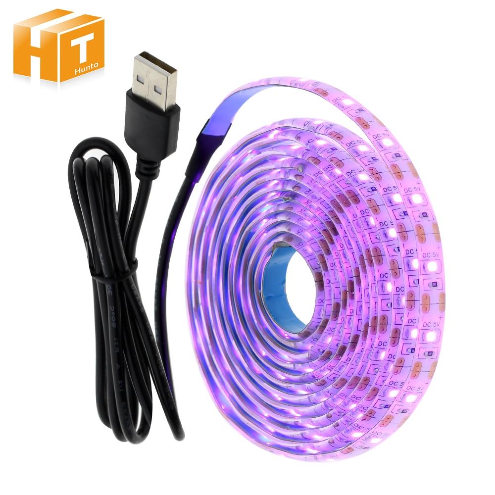 5V USB LED Strip Light  2835 Pink Color 1M 2M Set For TV Background Lighting Decoracion Fairy Lights