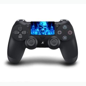 Image 5 - Autocollants en vinyle de pavé tactile de PVC faits sur commande pour Sony Dualshock 4 PS4 Pro/peau protectrice de Conroller de pavé tactile de contrôleur mince