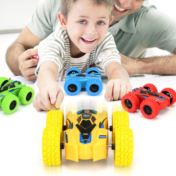 Dual-side Inertia Stunt Off-road Car 4-Wheel Drive Climbing Vehicles Model Toys Kids Pretend Play Toys Electronic image
