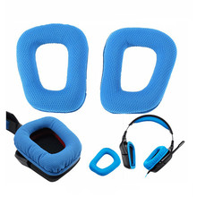 Durable Earpads For Logitech G35 G930 G430 Headphone Replacement Memory Foam Ear Cushion Pads Cover Sponge Eh#