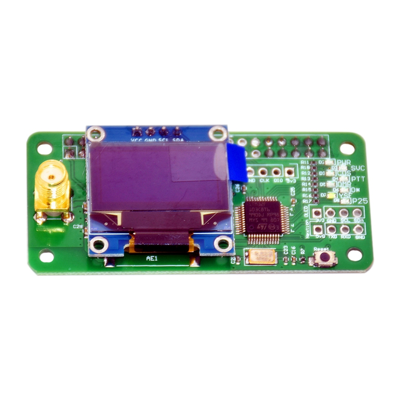 VHF UHF MMDVM Hotspot Pi-Star поддержка P25 DMR YSF для Raspberry Pi с антенной A10-02 & ZH