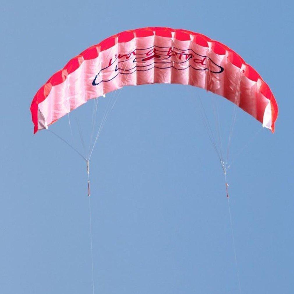 ร่มพาราไกลดิ้ง ขนาด 1.4 เมตร แบบคู่ ร่มไนลอน กีฬาทางน้ำ กีฬาชายหาด เล่นกลางแจ้ง Parachute Surfing Kite Paragliding
