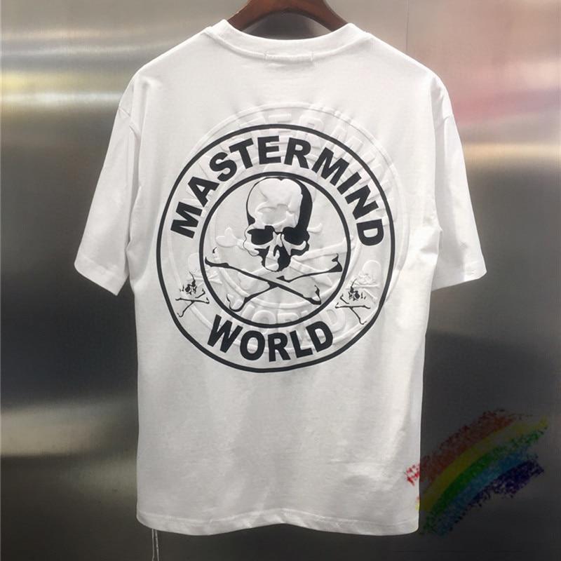2020 3D Foam Printing MMJ Tee Mastermind World T-shirt 1:1 High Quality Version Mastermind T-shirts Japanese