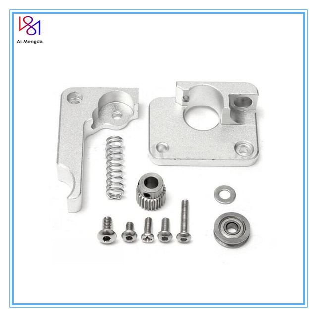 Left or Right 1.75mm MK10 Extruder Hand Arm Full Metal Bowden 3D Printer parts for Makerbot Replicator 2 Aluminum Part Extrusion