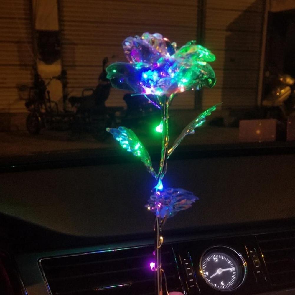 Дропшиппинг, креативный подарок на день Святого Валентина, 24 K, покрытая фольгой, розовая роза, длится навсегда, любовь, Свадебный декор, освещение для влюбленных, Роза