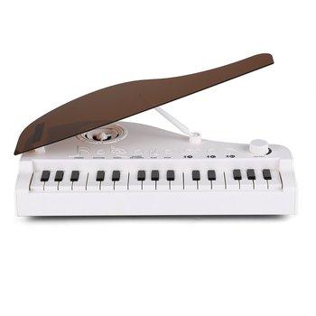 18 tasten Tastatur Klavier Spielzeug für Kinder Geburtstag Geschenk Musik Instrumente Elektronische Spielzeug Klavier mit HD Voice Starke Laufzeit Spielzeug-Musikinstrument Spielzeug und Hobbys -
