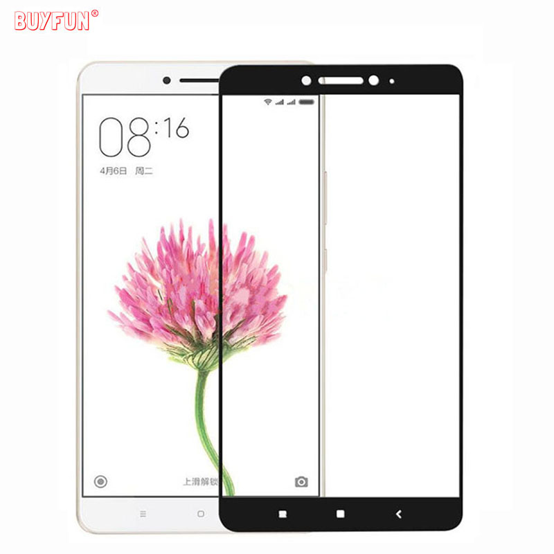 Tempered Glass For Xiaomi Max 2 Full Cover Explosion proof Screen protector glass For Xiaomi Xiomi <font><b>Xaomi</b></font> <font><b>Mi</b></font> <font><b>Max2</b></font> protective film image
