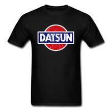 Datsun T-shirt Wagon Logo T Shirt Men Tshirt Black Clothing Japan Chic Tops Summer Tee Short Sleeve Red Car Streetwear red wagon