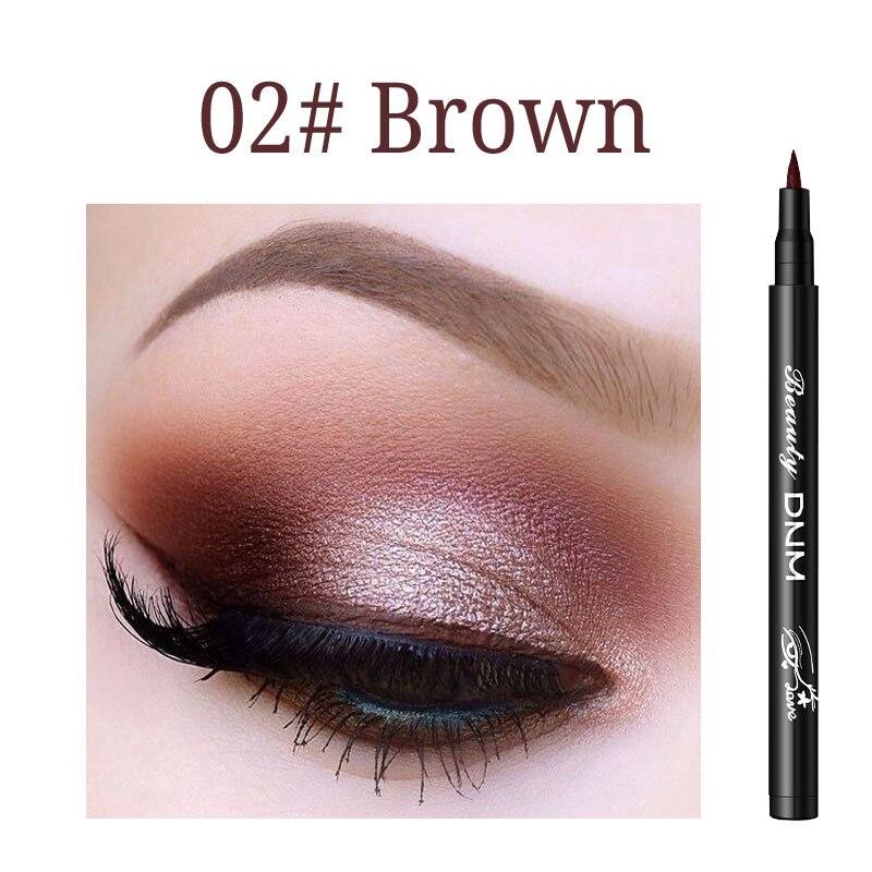 1pcs Eyeliner Colorful New Style Long-lasting Waterproof Liquid Eyeliner Eye Liner Pen Pencil Makeup Cosmetic Tool TSLM2