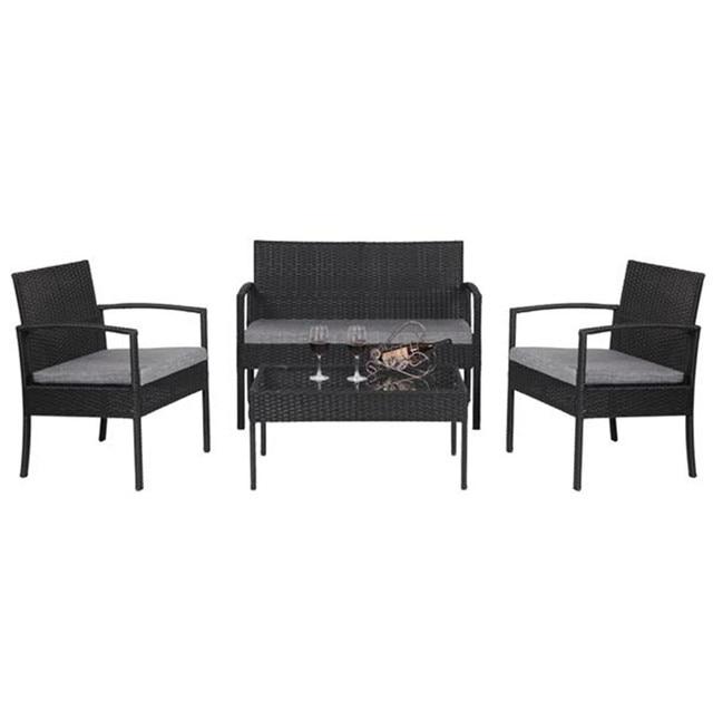 4 PCS Patio  Furniture Set  1