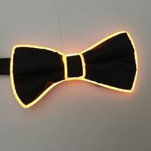 Мигающий галстук бабочка для ночного клуба; Для костюмированной