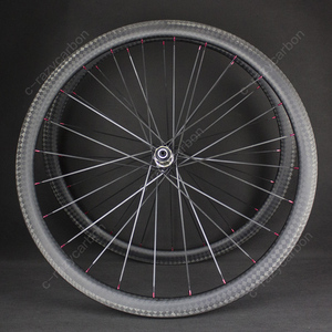 Image 2 - Special Brake 12k Finish Climbing Front Rear Carbon Road Bicycle Wheels With Novatecs AS61cb/FS62cb Carbon Hubs Straight Pull